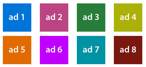 Ad Grid example