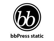 bbPress static content