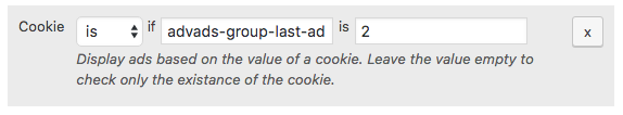Ad rotation cookie three