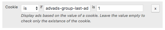 Ad rotation cookie two