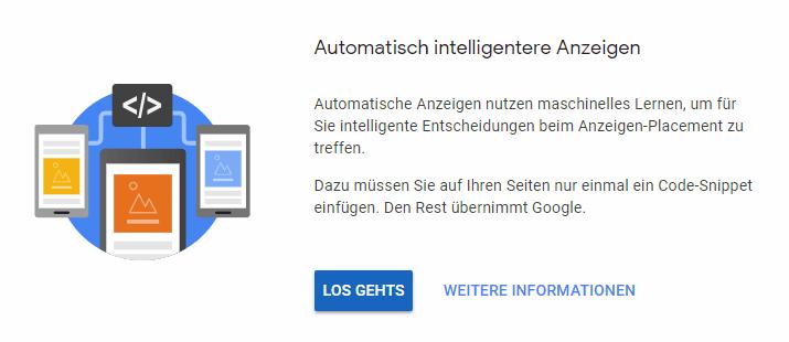 automatische Anzeigen