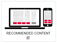 The Moneytizer recommended content
