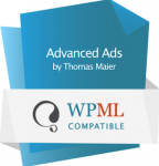 WPML Logo – compatible with Advanced Ads