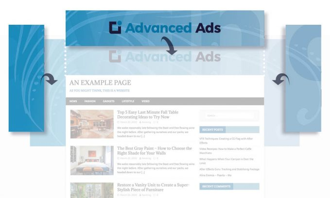 How to create a site branding ad setup in WordPress with Advanced Ads