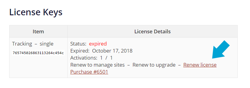 How to renew your Advanced Ads license in your account.