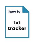 1x1 Tracker tutorial