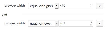 browser width range