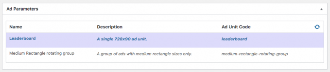 List of ad units from Google Ad Manager