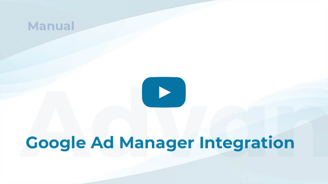 Video Google Ad Manager Integration